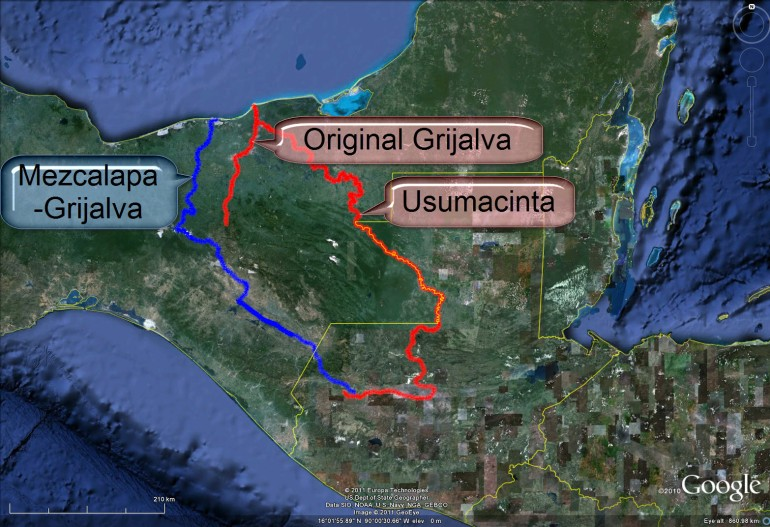 Resultado de imagen para Grijalva usumacinta